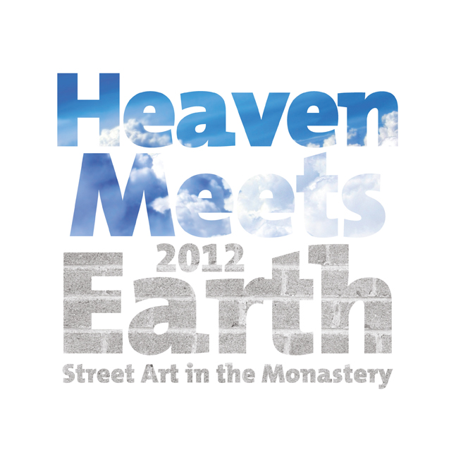 Heaven Meets Earth - Street Art in the Monastery