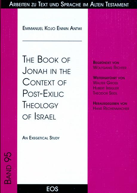 The Book of Jonah in the Context of Post-Exilic Theology of Israel