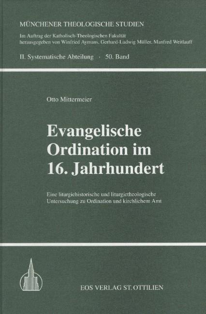 Evangelische Ordination im 16. Jahrhundert