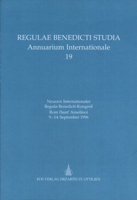 Neunter Internationaler Regula-Benedicti-Kongress
