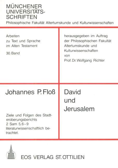David und Jerusalem
