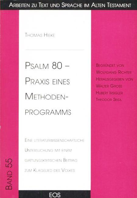 Psalm 80 – Praxis eines Methoden-Programms