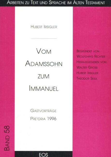 Vom Adamssohn zum Immanuel