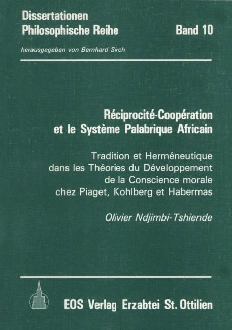 Reciprocite-Cooperation et le Systeme Palabrique Africain