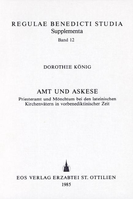 Amt und Askese