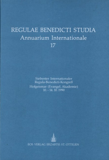 Siebenter Internationaler Regula-Benedicti-Kongress