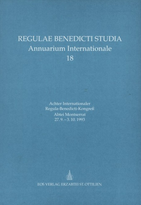 Achter Internationaler Regula-Benedicti-Kongress