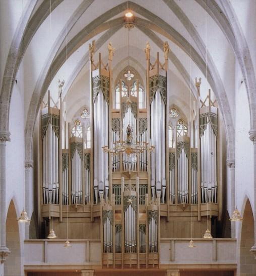 Chor- und Hauptorgel der Klosterkirche St. Ottilien