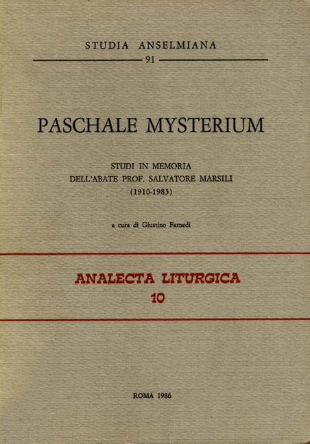 Paschale Mysterium