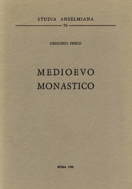 Medioevo monastico