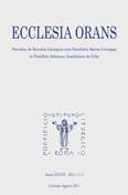 Ecclesia Orans 28 (2011)