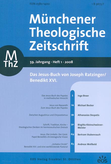 Münchener Theologische Zeitschrift 59 (2008/1)