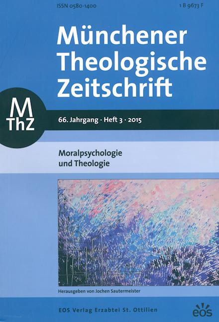 Münchener Theologische Zeitschrift 66 (2015/3)