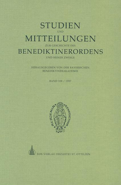 Studien und Mitteilungen zur Geschichte des Benediktinerordens 108 (1997)