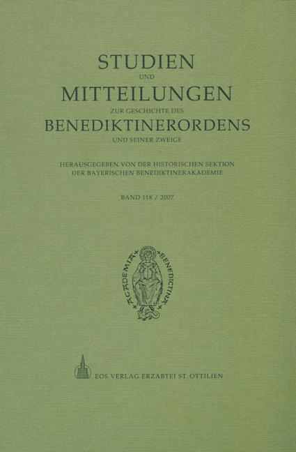 Studien und Mitteilungen zur Geschichte des Benediktinerordens 118 (2007)