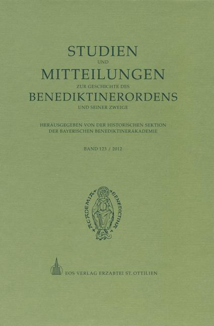 Studien und Mitteilungen zur Geschichte des Benediktinerordens 123 (2012)