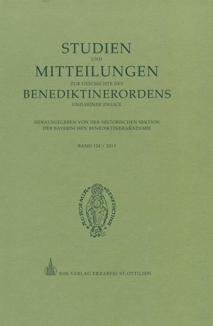 Studien und Mitteilungen zur Geschichte des Benediktinerordens 124 (2013)