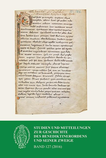 Studien und Mitteilungen zur Geschichte des Benediktinerordens, Abonnement