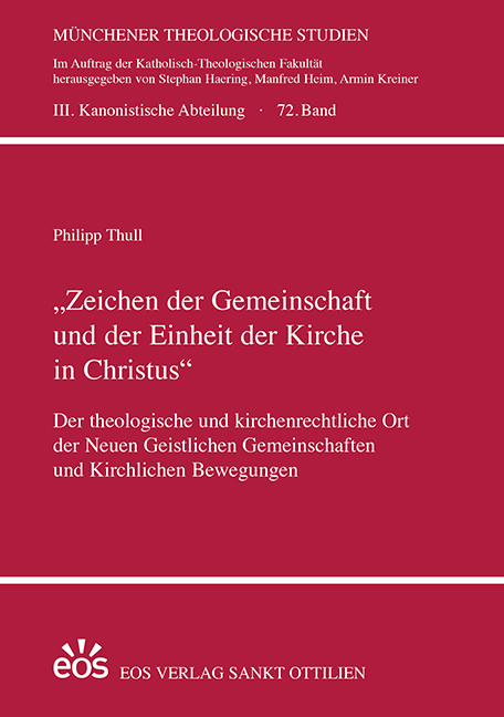 """""""Zeichen der Gemeinschaft und der Einheit der Kirche in Christus"""""""