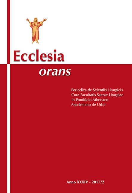 Ecclesia Orans 34 (2017/2)