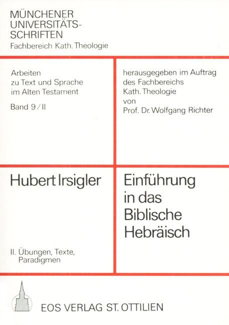 Einführung in das biblische Hebräisch