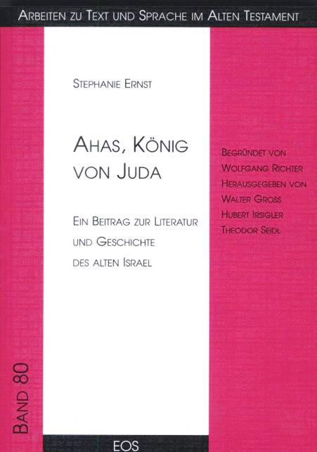 Ahas, König von Juda