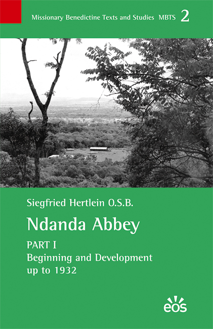 Ndanda Abbey, Part I (ebook)