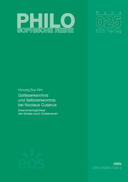 Gotteserkenntnis und Selbsterkenntnis bei Nicolaus Cusanus