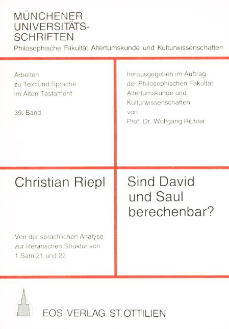 Sind David und Saul berechenbar?