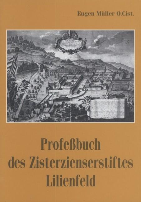 Professbuch des Zisterzienserstiftes Lilienfeld