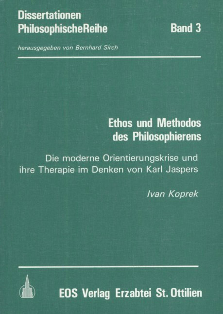 Ethos und Methodos des Philosophierens