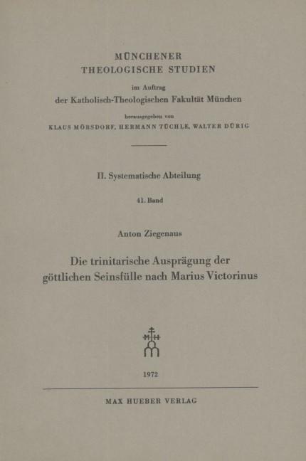 Die gott-menschliche Einigung in Christus als Problem der spekulativen Theologie seit der Scholastik