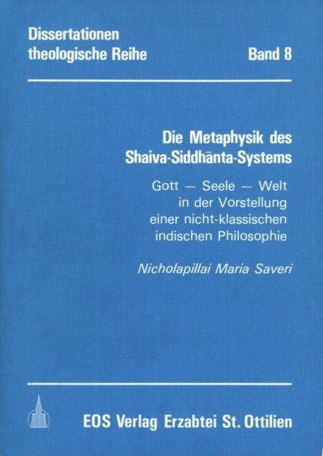 Die Metaphysik des Shaiva-Siddhanta-Systems