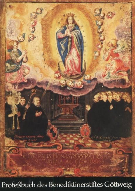 Profeßbuch des Benediktinerstiftes Göttweig