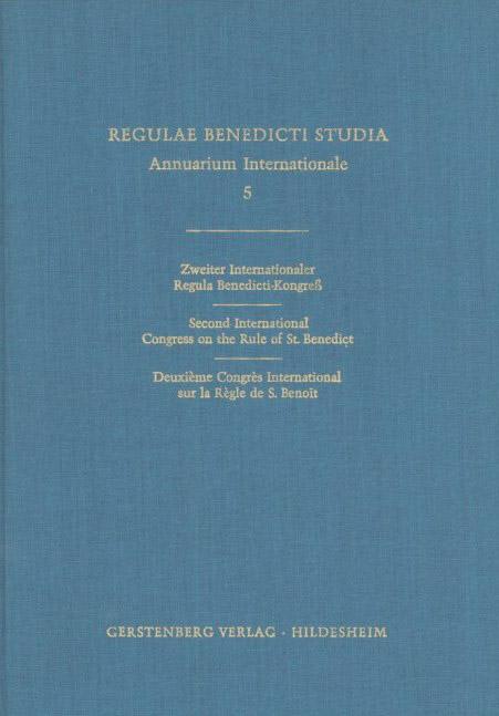 Regulae Benedicti Studia