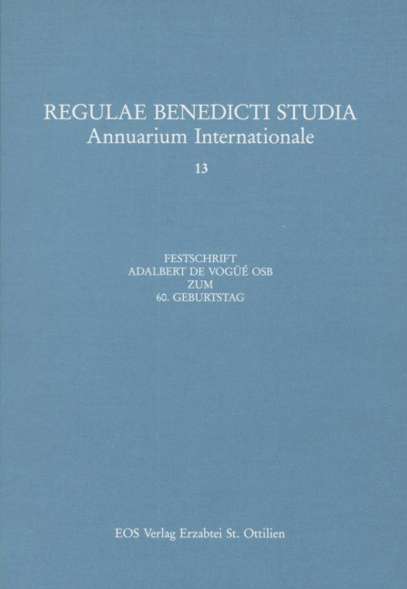 Regulae Benedicti Studia