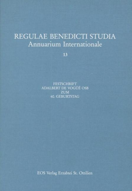 Benedikt Und Seine Regel