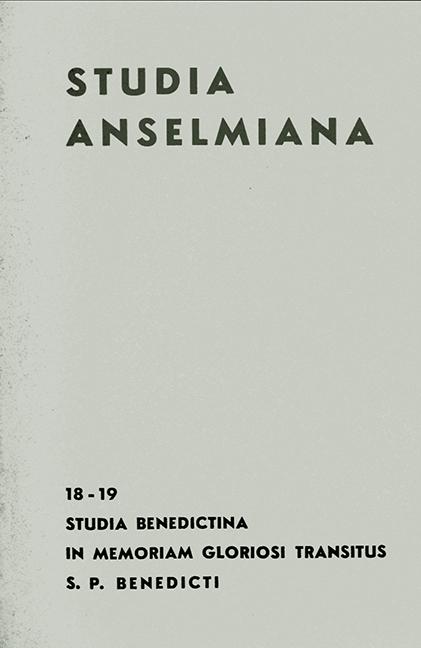 Studia Benedictina