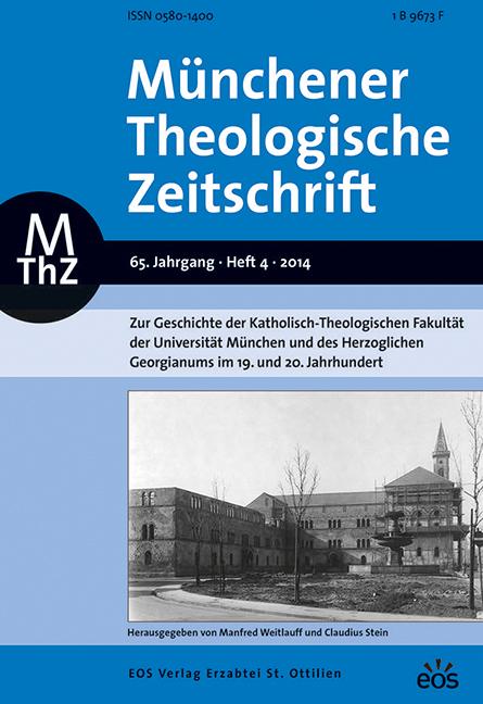 Münchener Theologische Zeitschrift, Abonnement