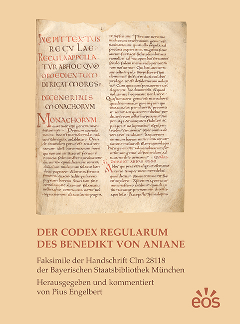 Der Codex Regularum des Benedikt von Aniane