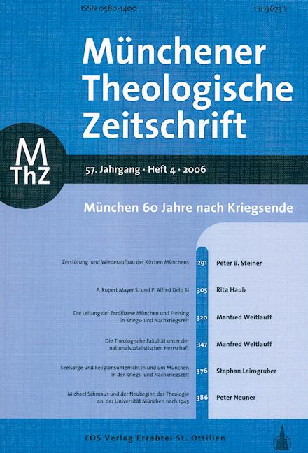Münchener Theologische Zeitschrift 57 (2006/4)