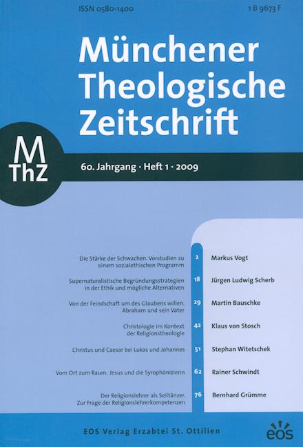 Münchener Theologische Zeitschrift 60 (2009/1)