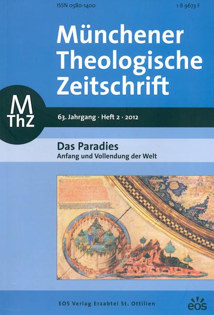 Münchener Theologische Zeitschrift 63 (2012/2)