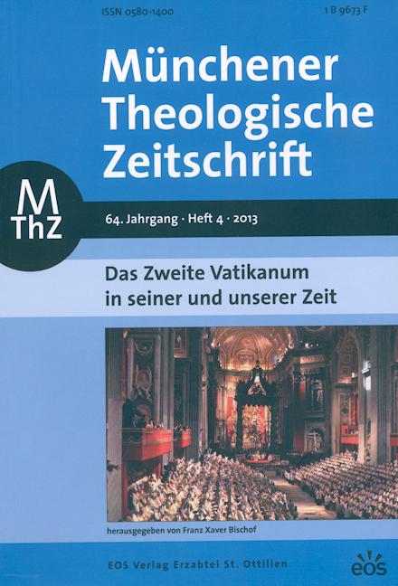 Münchener Theologische Zeitschrift 64 (2013/4)