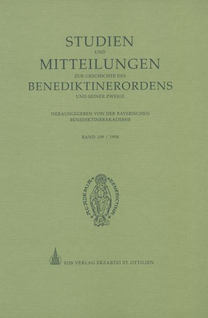 Studien und Mitteilungen zur Geschichte des Benediktinerordens 109 (1998)