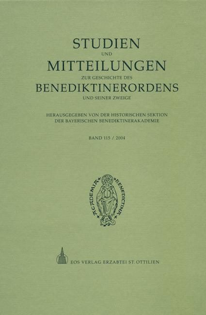 Studien und Mitteilungen zur Geschichte des Benediktinerordens 115 (2004)