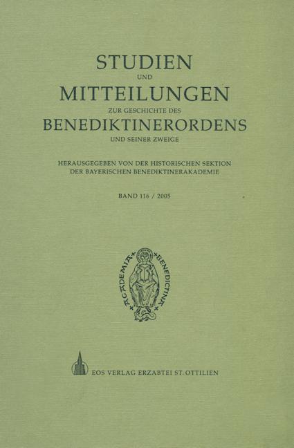 Studien und Mitteilungen zur Geschichte des Benediktinerordens 116 (2005)
