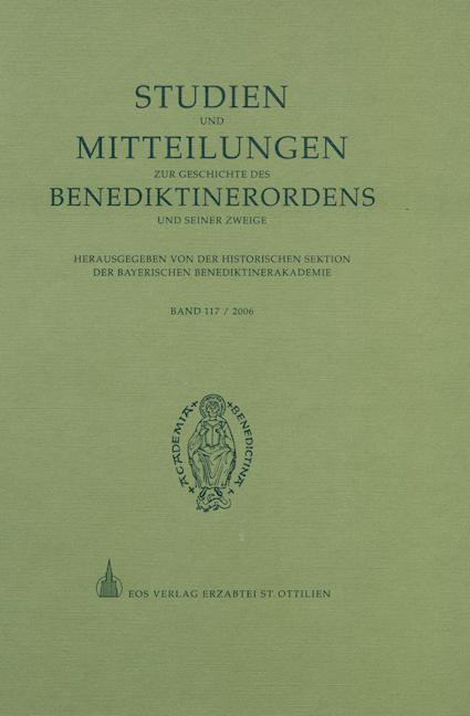 Studien und Mitteilungen zur Geschichte des Benediktinerordens 117 (2006)