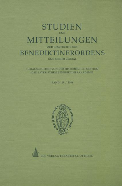 Studien und Mitteilungen zur Geschichte des Benediktinerordens 119 (2008)