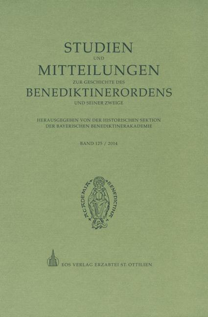 Studien und Mitteilungen zur Geschichte des Benediktinerordens 125 (2014)